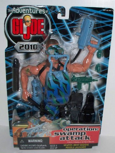 minoristas en línea The Adventures Adventures Adventures of GI Joe 2010 OPERATION  SWAMP ATTACK 12 Figura by G. I. Joe  almacén al por mayor