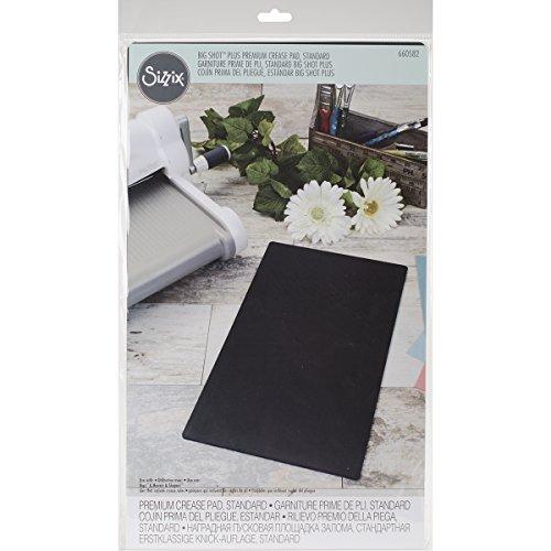 Sizzix 660582 Premium Crease Pad, Black (Premium Crease Pad)