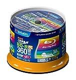 New Verbatim Blu-ray Disc 50 pcs Spindle - 50GB 6x BD-R DL Full HD - Inkjet Printable by Verbatim