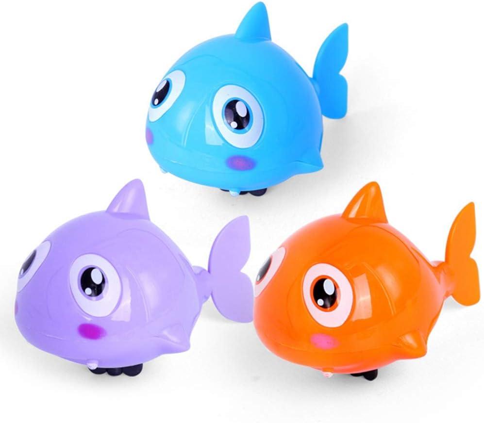 Toyvian Piscina Enrollable Bathtoys Juguetes de Agua para ni/ños Animales Ba/ño de Tina Ba/ñera Juego de Juguete de Cuerda 6pcs