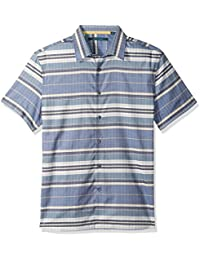 Perry Ellis Men's Short Sleeve Horizontal Multi-Color...