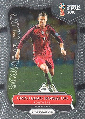 2018 Panini Prizm FIFA World Cup Soccer Scorers Club #SC-16 Cristiano Ronaldo Portugal