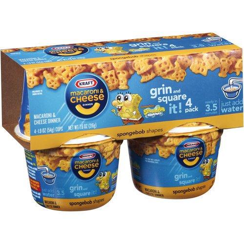 Kraft Easy Mac & Cheese, Sponge Bob Squarepants, 7.6 oz (Bobs Blue Cheese compare prices)