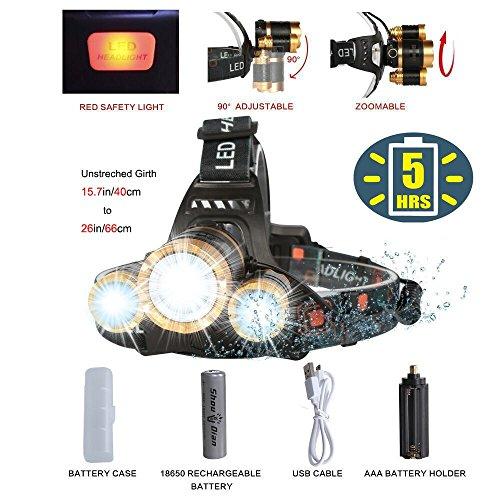 Flashlight 8000 Lumen Waterproof COSOOS Rechargeable product image
