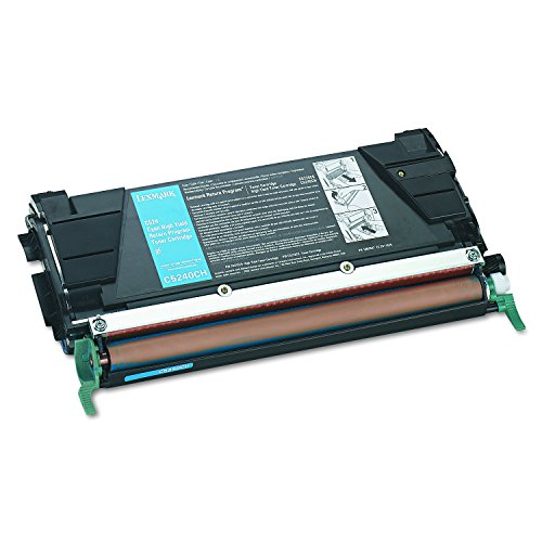 Lexmark C5240CH High yield return program laser toner for lexmark c524/c532/c534, 5k yld, - Premium Az Outlet