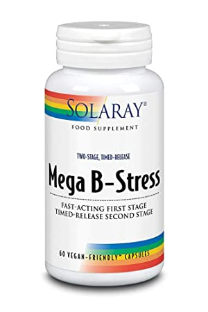 solaray mega b stress