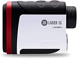 Golf Buddy Laser1S with Slope Rangefinder/Pin Finder with Vibration