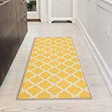 Silk Road Concepts Bath Rug, 20' x 59', Yellow