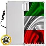 Custom iPhone X Case %28Red White Green