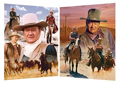 John Wayne Puzzle, 2-Pack Bundle from Masterpieces Puzzles