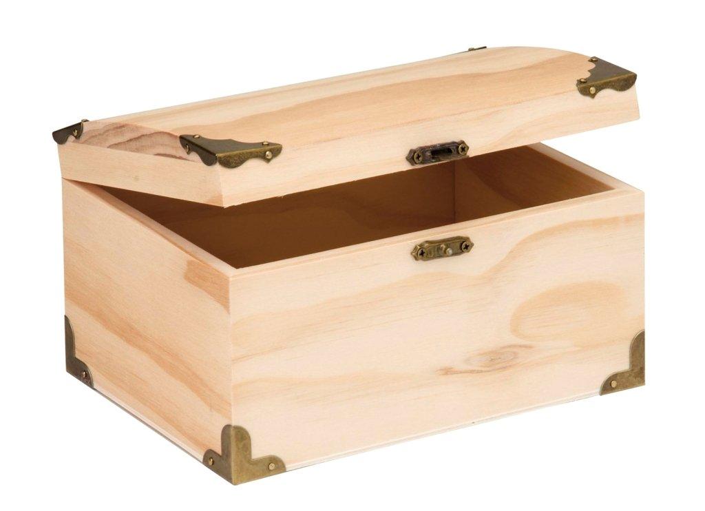 Glorex di legno Scrigno Del Tesoro, naturale, 18x 12,5x 10cm GLOREX GmbH 6 2003 353