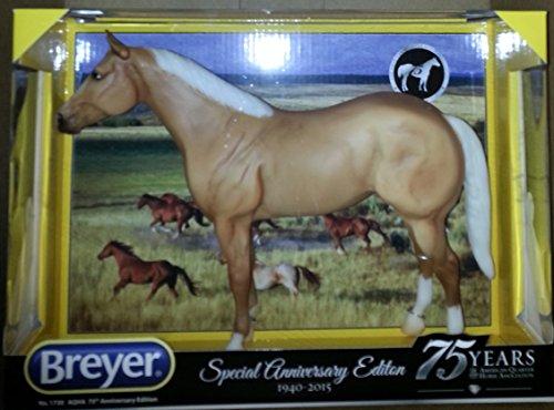 Breyer Traditional 1730 Aqha 75th Anniversary Ed Quarter Horse New, Palomino