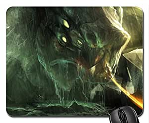Ghost of Sparta Mouse Pad, Mousepad (10.2 x 8.3 x 0.12 inches)