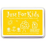 yellow stamp pad - Hero Arts Rubber Stamps Just for Kids, Yellow (CS111)