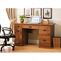 Better Homes and Gardens Desk, Abby Oak, a Great Multipurpose Workspace Solution for Students and Parents. The Classic Styling of This Desk Goes Well with Most Decors and Works Nicely in Rooms As Diverse As Bedrooms, Home Offices, Kitchens or Dorms.