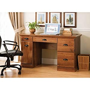 Better Homes And Gardens Desk, Abby Oak, A Great Multipurpose Workspace  Solution For Students And Parents. The Classic Styling Of This Desk Goes  Well With ...