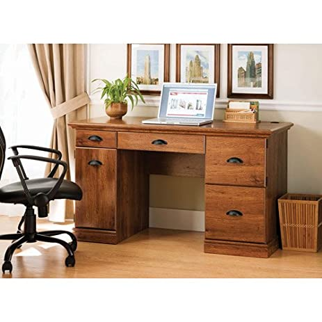 Better Homes And Gardens Desk, Abby Oak, A Great Multipurpose Workspace  Solution For Students