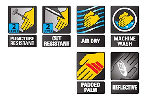 Ringers R-314 Extrication Gloves, Cut Resistant Work Gloves, Yellow, Large by Ringers Gloves (Image #3)