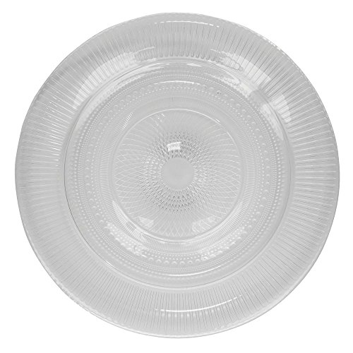 Arcoroc Louison Clear Glass Dinner Plate by Arc Cardinal - 9 3/4 Dia