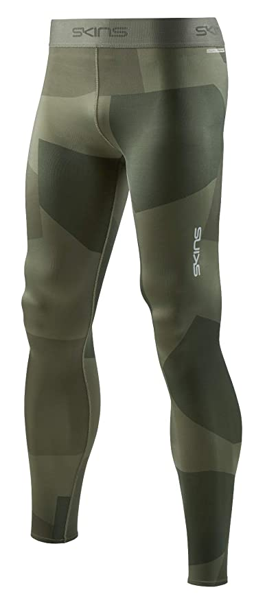 14bca862f8222 Skins Mens DNAmic Primary Compression Long Tights/Deconstructed Camo  Utility/S