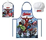 Kids Apron And Hat Chef Set Marvel Avengers