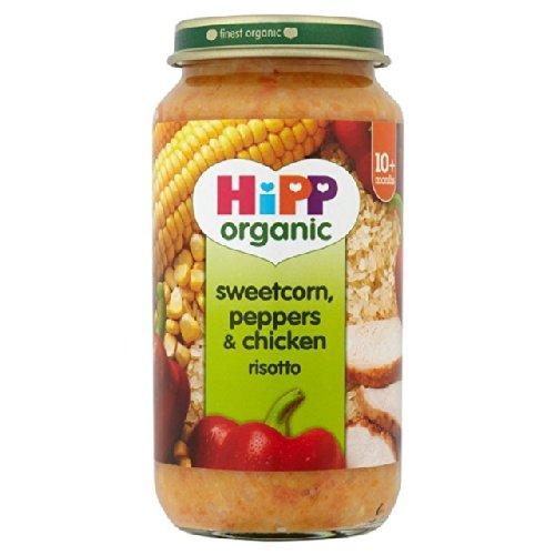 HiPP Bio-Zuckermais, Paprika & Chicken Risotto 250g Hipp Organic