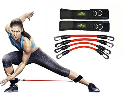 FIGROL Leg Resistance Bands Speed Agility Training Strength