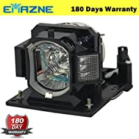 Emazne DT01411 Projector Replacement Compatible Lamp With Housing For Hitachi CP-A352WN Hitachi CP-AW2503 Hitachi CP-AW3003 CP-AW3005 CP-AW3019WNM CP-AW312WN CP-AX3003 CP-AX3503 CP-AX3505 CP-BW301WN