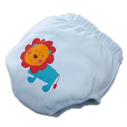 Niños bebé reutilizable lavable pañales bebé recién nacido Flexible ...