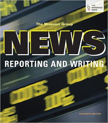 Workbook custom handwriting worksheets : News Reporting and Writing: 9781457653544: Communication Books ...
