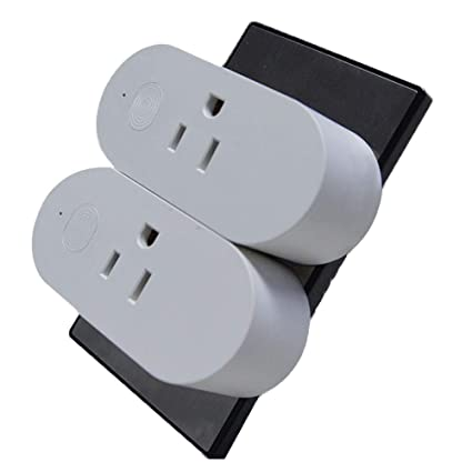 Wifi Smart Plugs with Energy Monitoring - 2 pack, No Hub required - Control  Devices from your Phone from Anywhere, Compatible with Amazon Alexa &