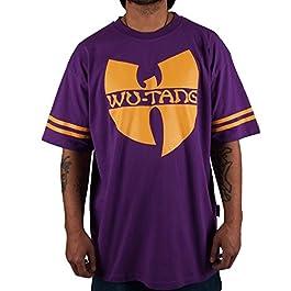 Wu Wear Wu 36 T-Shirt, Wu Tang Clan Camiseta, Moda Callejera Urban, Hip Hop, Hombres, Violet