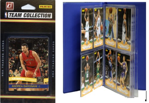 NBA Toronto Raptors Licensed 2010-11 Donruss Team Set Plus Storage Album by C&I Collectables