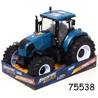 Adventure Force Large Blue Farm Tractor Lights & Sounds