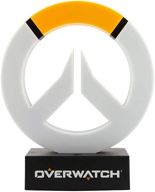 Overwatch – Lámpara de mesa con logotipo, producto oficial de ...