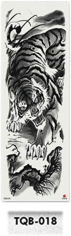 Soldado tatuaje pegatina negro militar hombre cuerpo completo arte ...