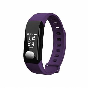 Reloj Intelligent Smart Watch Bluetooth Teléfono,Reloj Deportivo con Pulsómetro, podómetro pulsera hombre,