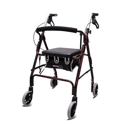 MXZL-Andador Plegable Aluminio Ligero Andador Portátil ...