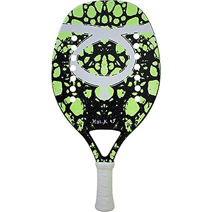 Pala de Tenis Playa Tom Caruso HULK 45 GREEN 2018
