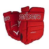 VERBERO Cypress 4-Roll Hockey Gloves (10 inch, Red)
