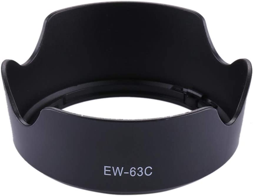 JINYANG Protective Accessories EW-63C Lens Hood Shade for Canon EF-S 18-55mm f//3.5-5.6 is STM Lens JINYANG