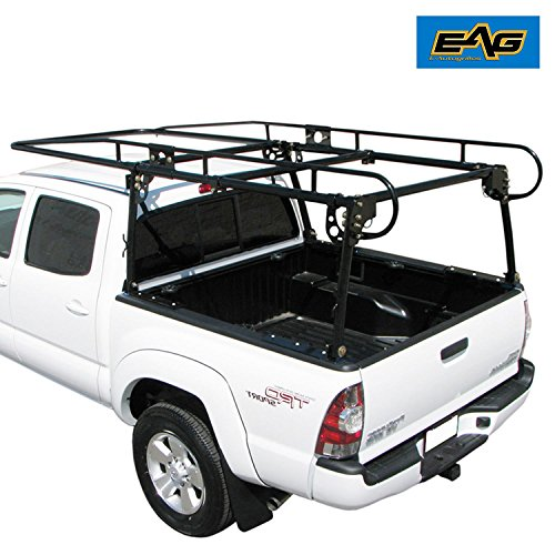 EAG Adjustable Truck Contractor Ladder Rack Pick Up Lumber Kayak Utility 1000 lbs