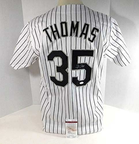 Frank Thomas Autographed Jersey - Replica 201852 - JSA Certified - Autographed MLB Jerseys