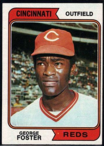 Baseball MLB 1974 Topps #646 George Foster Reds