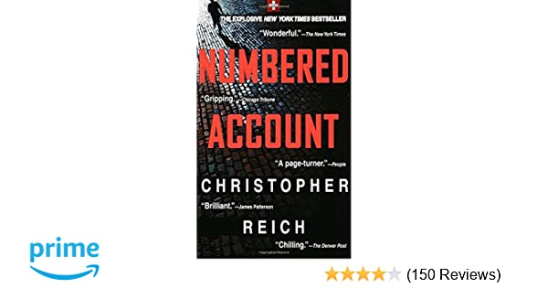 Numbered Account: A Novel: Christopher Reich: 9780440225294 ...