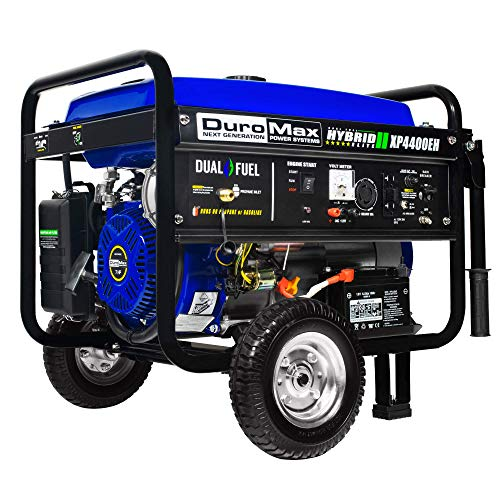 DuroMax Hybrid Dual Fuel XP4400EH 4,400-Watt Portable Generator by DuroMax (Image #17)