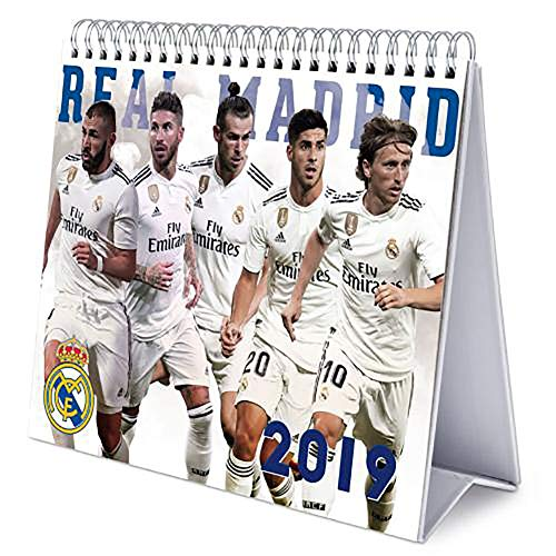 Calendario de sobremesa Oficial del Real Madrid 2019