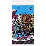 "Monster High Plastic Tablecloth, 84"" x 54"""