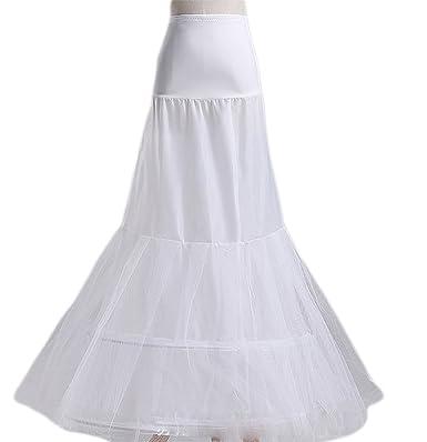 Hosaire Petticoat Half-Length 100cm, Wedding Dress Prom Dress,White