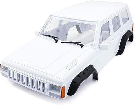 INJORA RC Carrocería Kit 313mm Distancia Entre Ejes Corpo Cuerpo Cherokee Body Car Shell para 1/10 RC Crawler Axial SCX10 SCX10 II 90046 90047 Traxxas ...